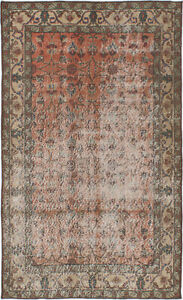 Hand Knotted Turkish 3 11 X 6 7 Melis Vintage Wool Rug Discounted