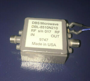 Dbs Microwave Low Noise Amplifier 8 5 To 10 5 Ghz 20 Db Gain