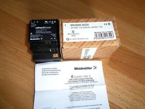 12 Nib Weidmuller Switch Power Supply 992889 0024 Cp snt 115 230vac 24vdc 1 0a