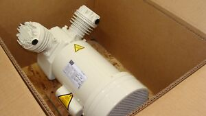 Schulz Dental Air Compressor Head 1hp Oil Free 2 Cylinder Electric 115 230 Volts