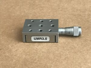 Nrc Newport Umr3 5 Linear Stage With Bm11 5 Micrometer