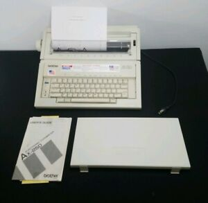 Brother Ax 250 Correcting Electronic Daisy Wheel Portable Typewriter Works
