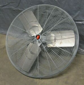 30 Stationary Or Oscillating Air Circulator 115v Fan 1 2hp 1075 750 Rpm 2 Speed