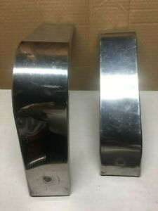1963 1964 Studebaker Avanti Ignition Right And Left Stainless Shields
