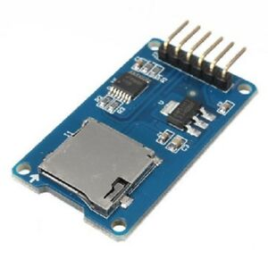 2x Micro Sd Tf Memory Card Reader Module With Spi Interface For Arduino 2 Pcs