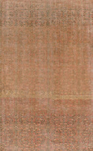 Hand Knotted Turkish Carpet 4 10 X 8 1 Melis Vintage Traditional Wool Rug