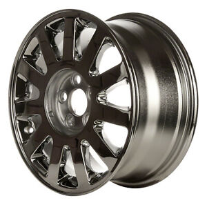 03513 Oem Reconditioned Wheel 16 X 7 5 Fits 2003 2005 Lincoln Ls Chrome Plated