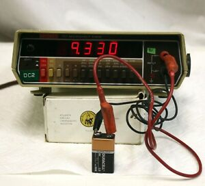 Keithley 177 Microvolt Dmm 4 5 Digit Multimeter