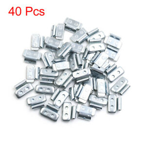 15g Clip-on Metal Wheel Balance Weights for Motorcycle Car 27.5 x 19.5mm 40pcs