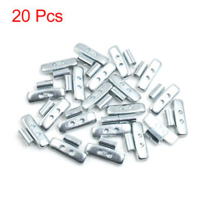 25g Clip On Tyre Wheel Balance Weights For Motorcycle Car 41 X 21 5mm 20pcs