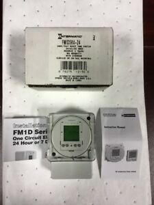 Electronic Timer Intermatic Fm1d50a 24