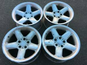 Rare 17x8 5 Ac Schnitzer Type 2 Rep Wheels Made In Japan In Fair Used Condition