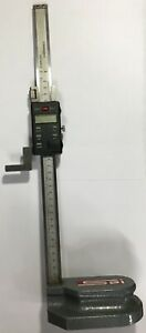 Spi Electronic Height Gage 0 12 0 300mm Range 0005 0 01mm Resolution