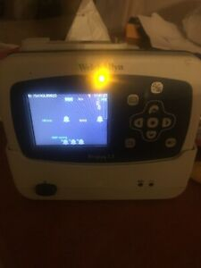 Welch Allyn Propaq Lt Monitor With Charging Cradle Spo2 Ecg ekg Nibp