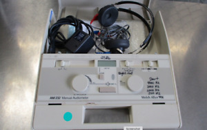 Welch Allyn Audio Meter Am232 Portable Audiometer With Headphones Headset