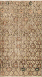 Hand Knotted Turkish 3 10 X 7 0 Antalya Vintage Wool Rug Discounted
