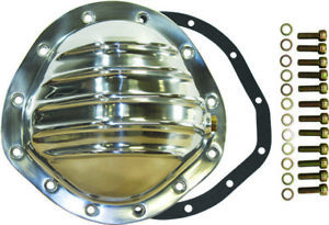 Chevy Gmc Truck 12 Bolt Finned Polished Aluminium Differential Cover 8 75 Rg