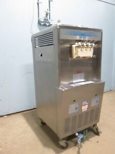 taylor 339 33 Commercial H d Water Cooled 2 Flavors Twist Ice Cream Machine