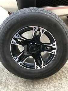 4 Wheels Winter Tires 2007 2014 Toyota Fj Cruiser Tacoma 4runner