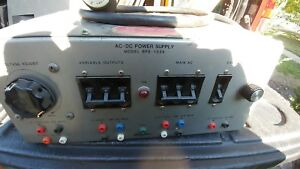Hampden Model Bps 103a Ac dc Bench Power Supply
