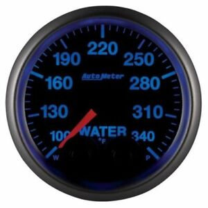 Auto Meter 5655 05702 D Nascar Elite 2 1 16 Water Temperature Gauge Black Dial