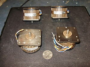 4 Escap Stepper Motors Cnc Mill drill Projects