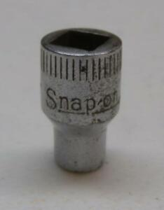 Vintage Snap On 9 32 Drive 7 32 6 Point Socket M 7 Free Usa Shipping