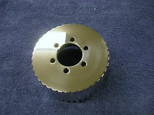 New 1 2 Pitch 39 Tooth Blower Supercharger Pulley Snout Gasser Chevy 671 471