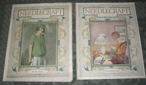 2 July 1923 And September 1923 Publications Needlecraft