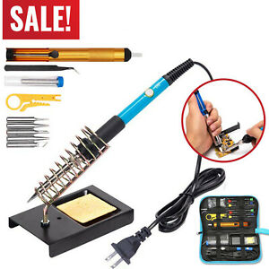 20 In 1 Adjustable Electric Temperature Gun Welding Soldering Iron Tool Kit Set