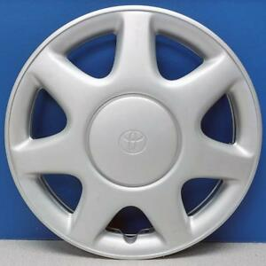 One 1993 1997 Toyota Corolla 61075 14 Hubcap Wheel Cover Oem 4260202040