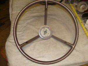 1956 1957 Nos Ford Steering Wheel