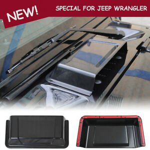 For Jeep Wrangler Abs Car Engine Inlet Cover Air Intake Hood Vent Scoop Cover