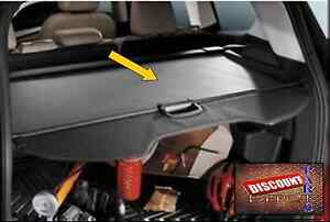 2015 2016 2019 Ford Escape Shade Cover Charcoal Black Cargo Security Genuine