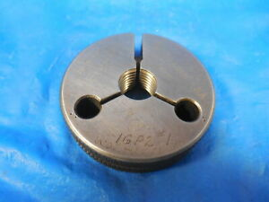 7 16 20 Unjf 3a Thread Ring Gage 4375 No Go Only P d 4019 Quality Tool