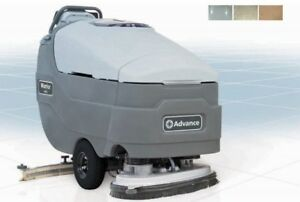 Advance Warrior St 32 d Walk behind Automatic Floor Scrubber Cleaner W Charger