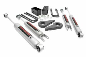 1999 2006 Chevrolet Gmc Sierra 1500 4wd 1 5 2 Rough Country Leveling Lift Kit