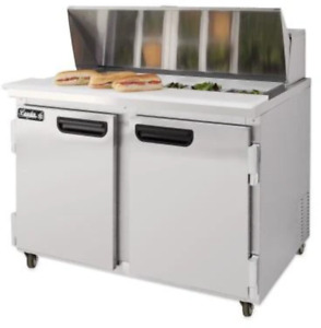 Leader 36 Bain Marie prep Table Cooler self contained Eslm36