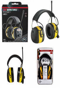 3m Worktunes Hearing Protector With Am fm Radio 1 Pack Wired
