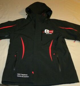 EUC 2010 Vancouver Olympics Coca Cola Black Hooded Jacket Size L