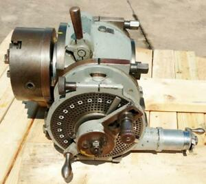 Kearney Trecker Or Milwaukee 5 1 Spiral Lead Dividing Head excellent