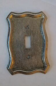 Vintage Light Switch Plate Cover Single Toggle 1967 American Tack And Howe Co