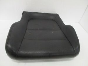 1992 1996 Honda Prelude Front Driver Side Lower Seat Cushion Black Leather