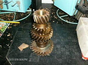Nos Ford 3 Speed Cluster Gear C2az 7113a 1955 1962 Ford 3 Speed With 292 Fomoco