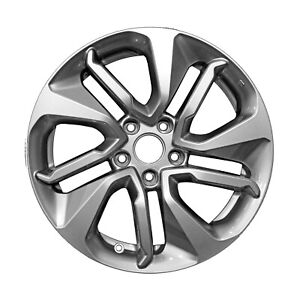 64125 Used Oem Factory Aluminum 17x7 5 Wheel Painted Silver