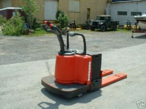 2003 Raymond Forklift Model 112 Jack 6000lb Cap With Battery Charger hd