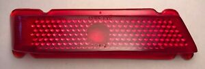 Vintage Lynx Eye 501 2 Ruby Glass Lens Tail Stop Light Old Antique 40 S