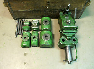 Greenlee Hydraulic Pipe Tubing Bender No 770 W Shoe Set 1 1 4 3 100874