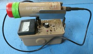 Ludlum Model 12 Radiation Detector Geiger Meter With 44 3 Probe