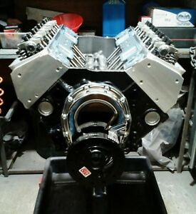 Chevy Stroker 383 Engine Motor With Proheader 1 Aluminum Heads Free Shipping